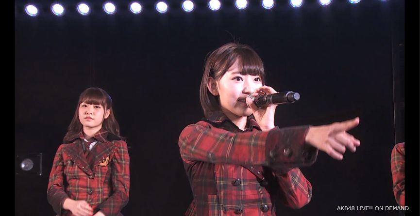 ストレート宮脇咲良 MC 自己紹介 AKB48チームA公演 20140730