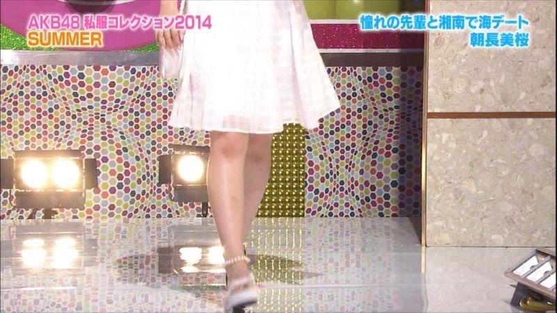 AKBINGO 私服コレクション2014夏 朝長美桜 20140709 a (3)_R