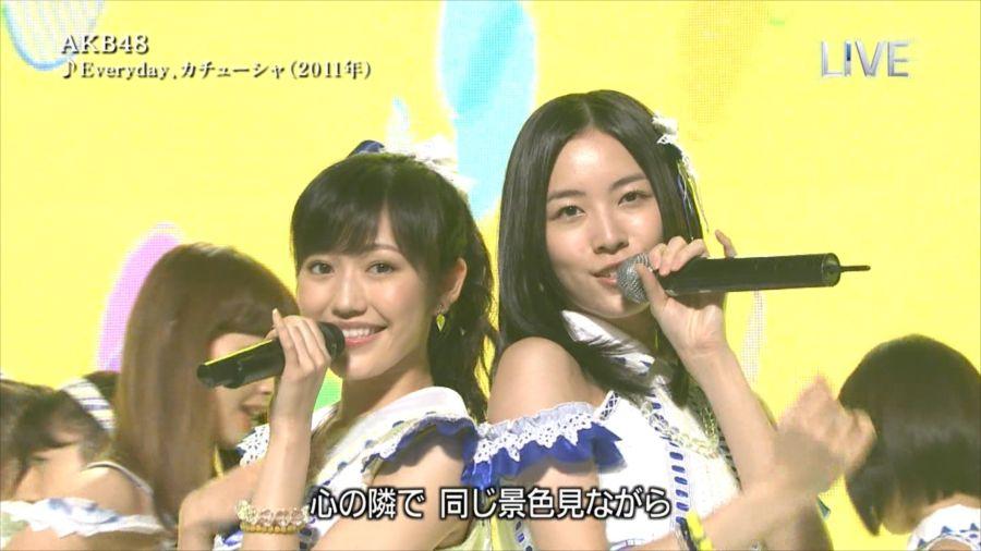 AKB48 渡辺麻友 THE MUSIC DAY 音楽のちから 20140712 (13)_R