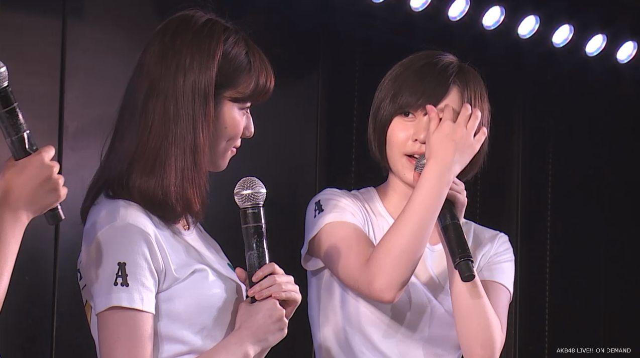 島崎遥香 MC チームA劇場公演 20140714 (2)