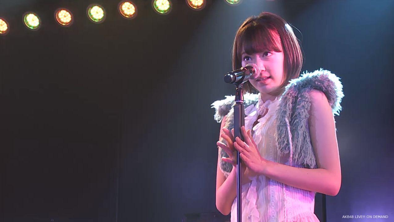 ストレート宮脇咲良 ハート型ウィルス AKB48チームA公演 20140730 (19)
