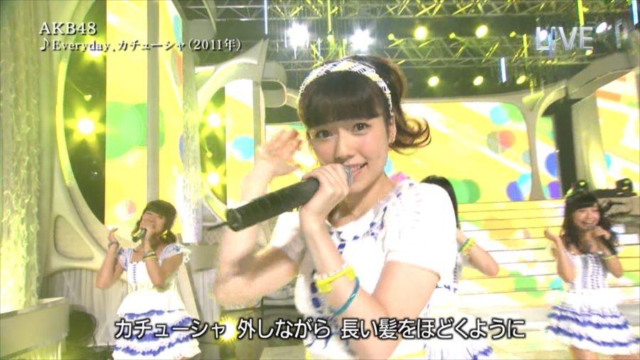 AKB48 島崎遥香 THE MUSIC DAY 音楽のちから 20140712 (5)_R