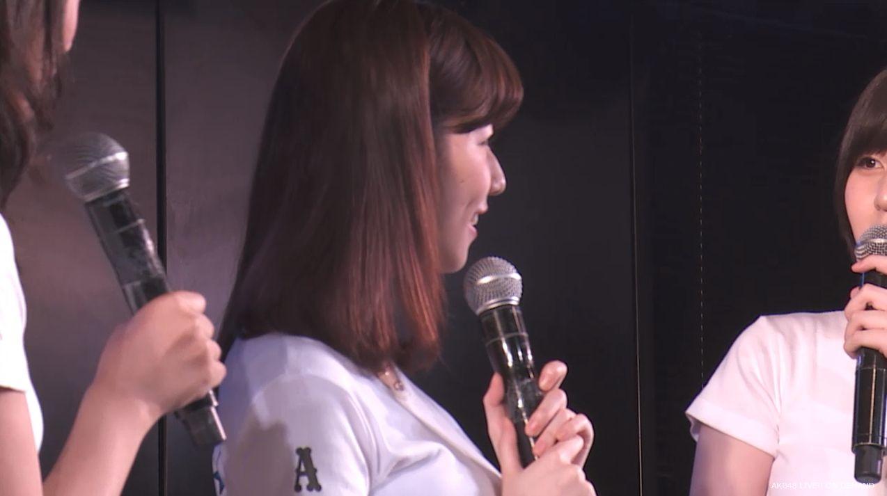 島崎遥香 MC チームA劇場公演 20140714 (9)