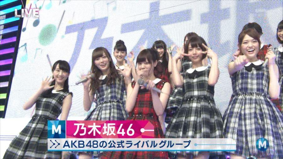 乃木坂46 ミュージックステーション 白石麻衣 20140711_R