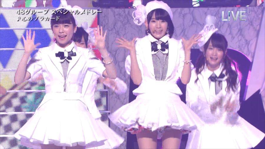 AKB48 島崎遥香 THE MUSIC DAY 音楽のちから 20140712 (23)_R