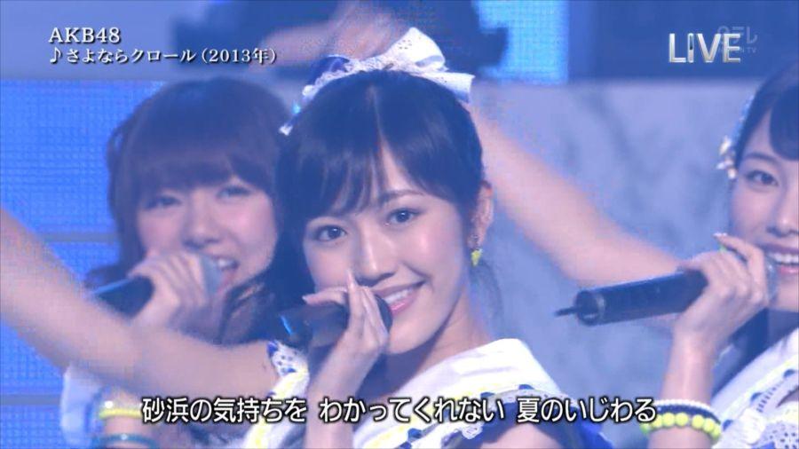 AKB48 渡辺麻友 THE MUSIC DAY 音楽のちから 20140712 (32)_R