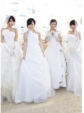 FLASHスペシャル グラビアBEST2014夏号 NMB48ウェディングドレス_