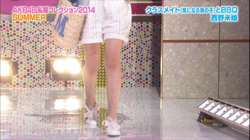 AKBINGO 私服コレクション2014夏 西野未姫 20140709 (3)_R