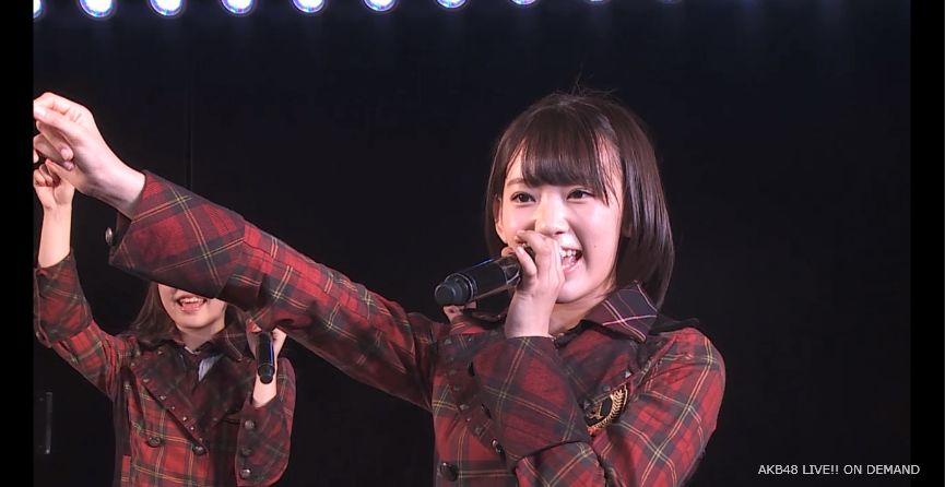 ストレート宮脇咲良 MC 自己紹介 AKB48チームA公演 20140730 (3)