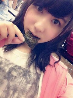 岡田彩花 海苔
