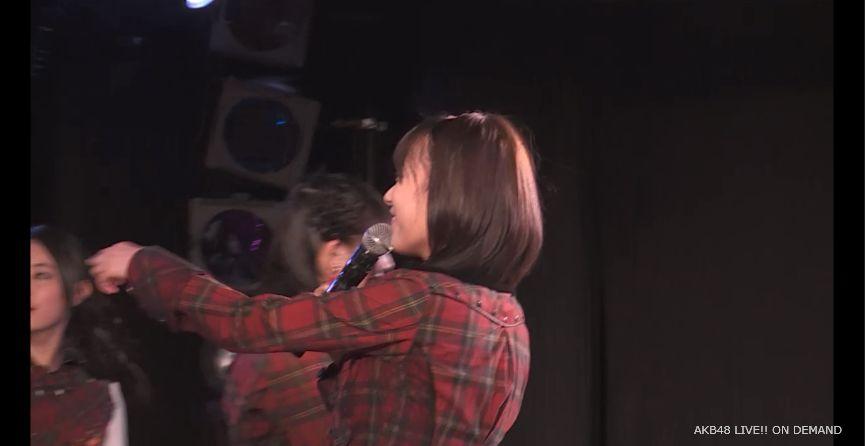 ストレート宮脇咲良 MC 自己紹介 AKB48チームA公演 20140730 (10)