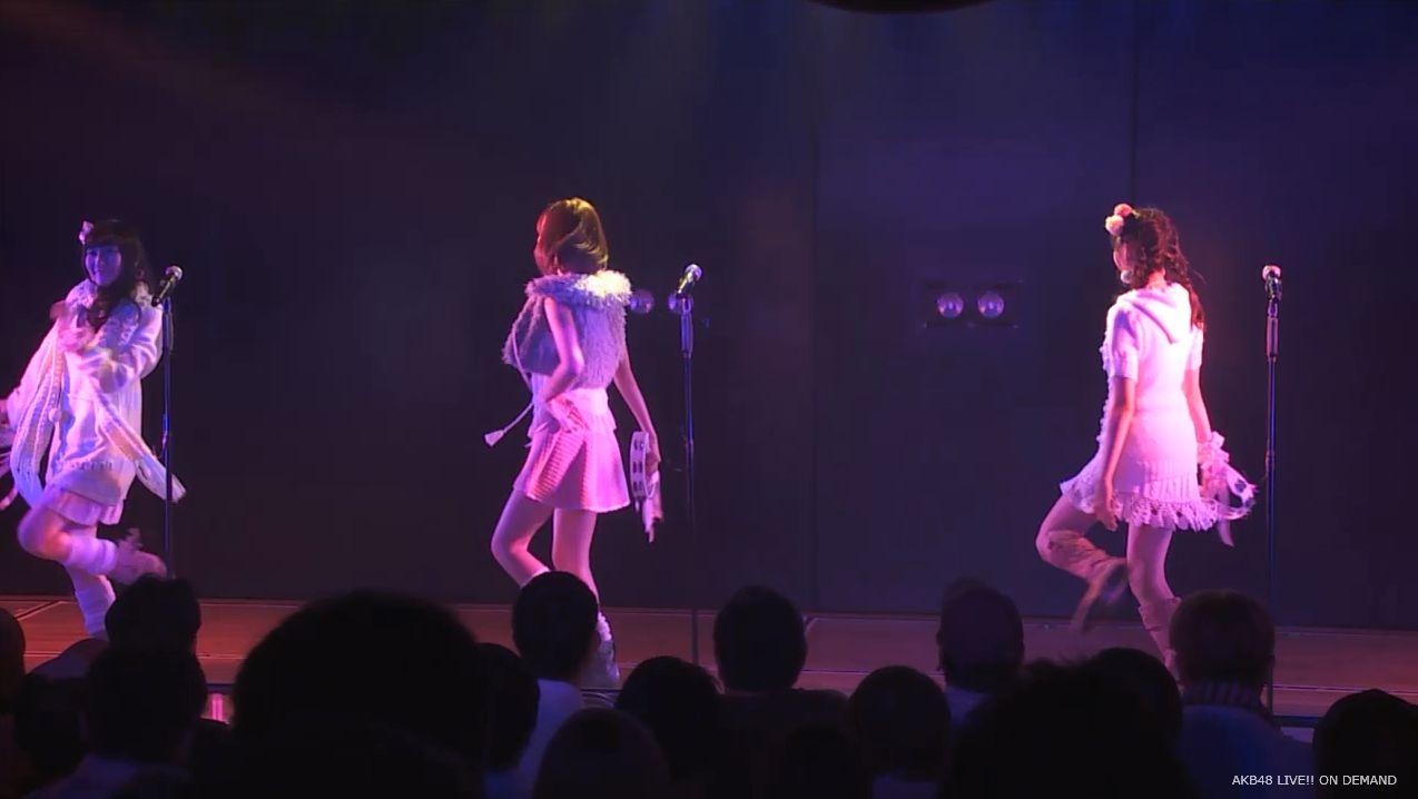 ストレート宮脇咲良 ハート型ウィルス AKB48チームA公演 20140730 (12)