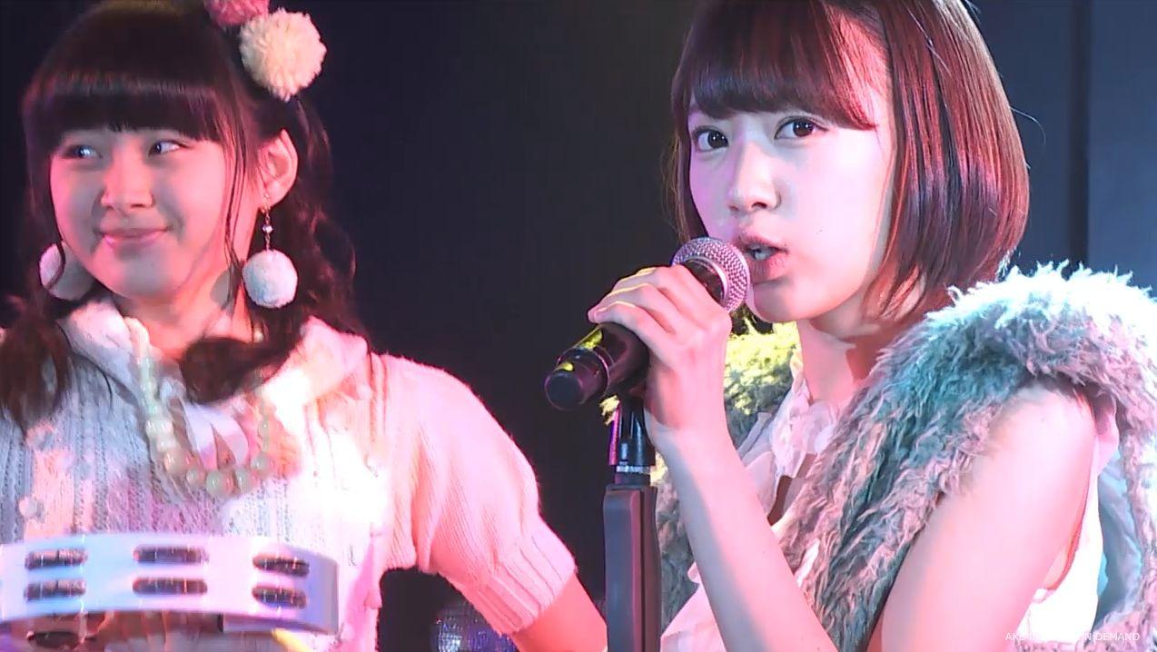 ストレート宮脇咲良 ハート型ウィルス AKB48チームA公演 20140730 (14)