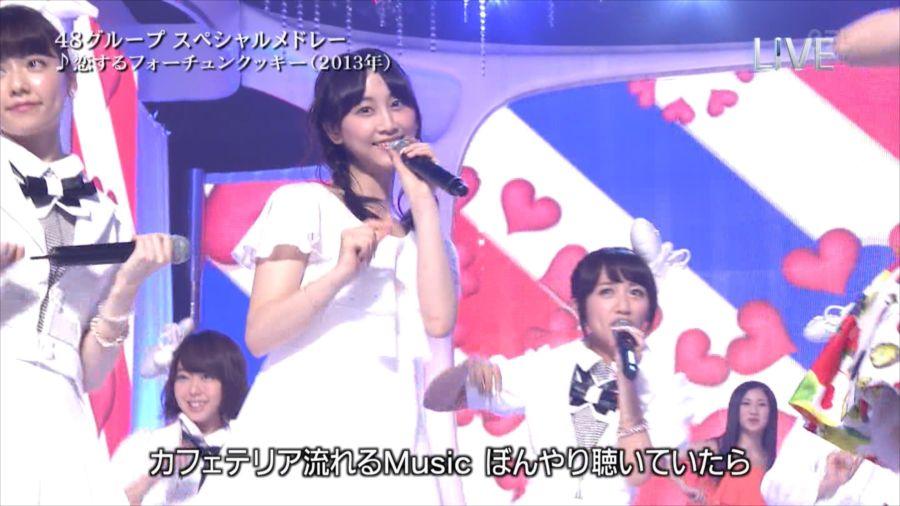 AKB48 島崎遥香 THE MUSIC DAY 音楽のちから 20140712 (30)_R