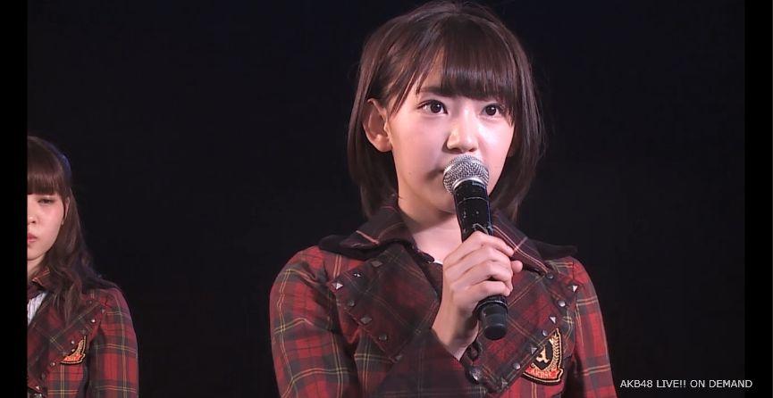 ストレート宮脇咲良 MC 自己紹介 AKB48チームA公演 20140730 (9)