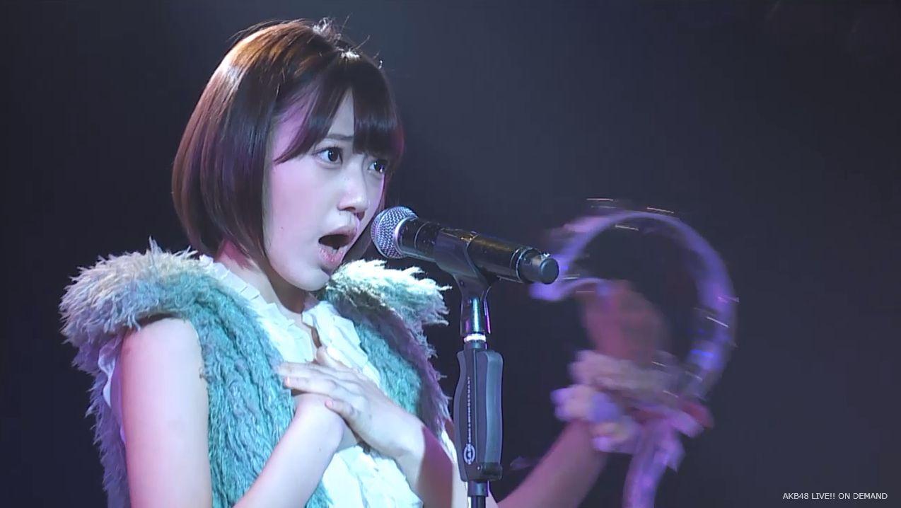 ストレート宮脇咲良 ハート型ウィルス AKB48チームA公演 20140730 (3)