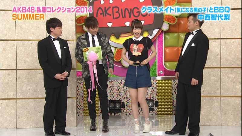 AKBINGO 私服コレクション2014夏 ちより 20140709 (1)