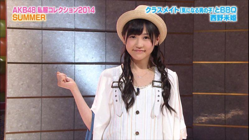 AKBINGO 私服コレクション2014夏 西野未姫 20140709 (6)_R