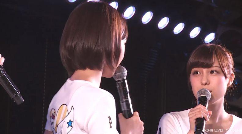 ストレート宮脇咲良 MC AKB48チームA公演 20140730 (2)