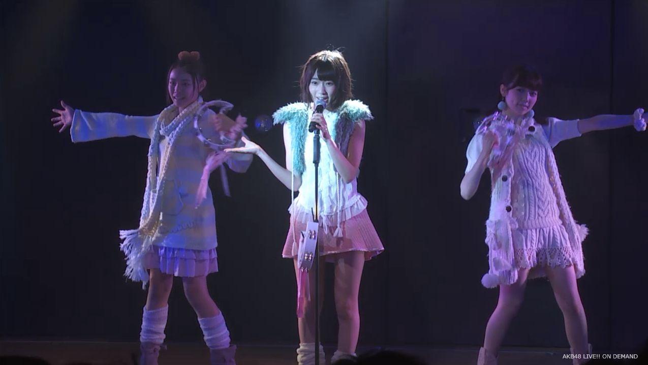 宮脇咲良 ハート型ウィルス チームA公演 20140714 (3)