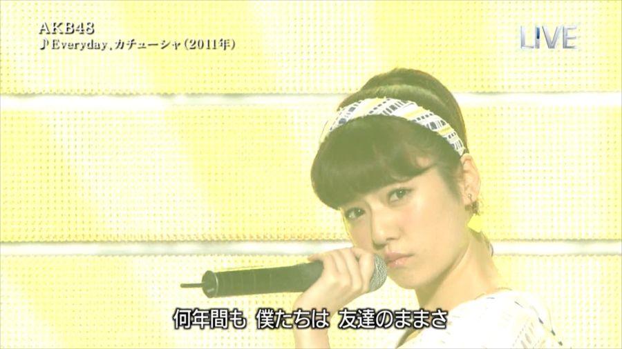 AKB48 島崎遥香 THE MUSIC DAY 音楽のちから 20140712 (4)_R