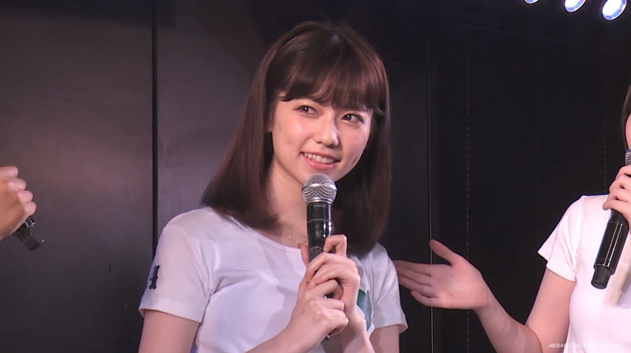 島崎遥香 MC チームA劇場公演 20140714 (8)