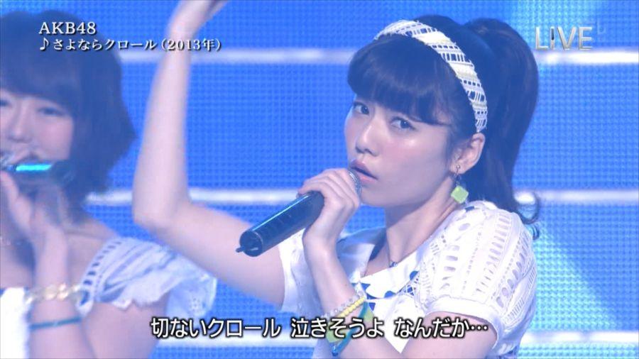 AKB48 島崎遥香 THE MUSIC DAY 音楽のちから 20140712 (13)_R