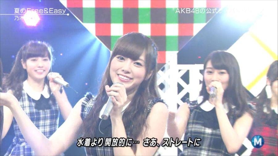 乃木坂46 ミュージックステーション 白石麻衣 20140711 (10)_R