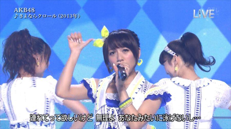 AKB48 島崎遥香 THE MUSIC DAY 音楽のちから 20140712 (12)_R