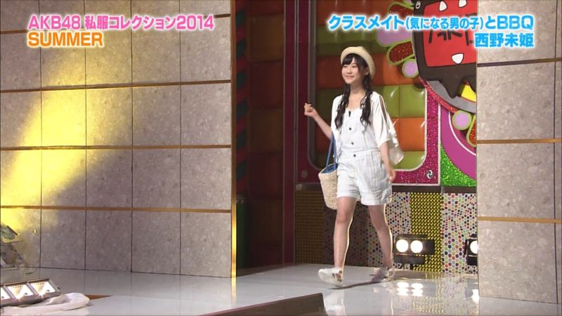 AKBINGO 私服コレクション2014夏 西野未姫 20140709 (2)_R