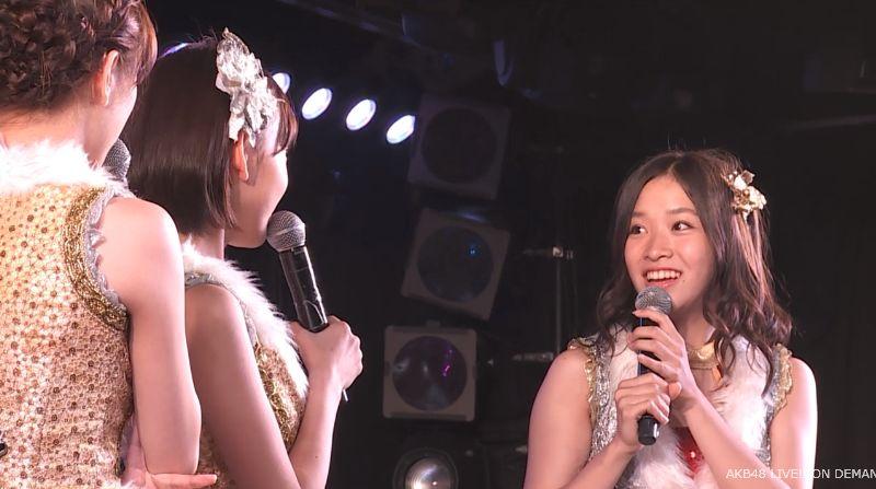 ストレート宮脇咲良 MC 最近ハマってること AKB48チームA公演 20140730 (4)