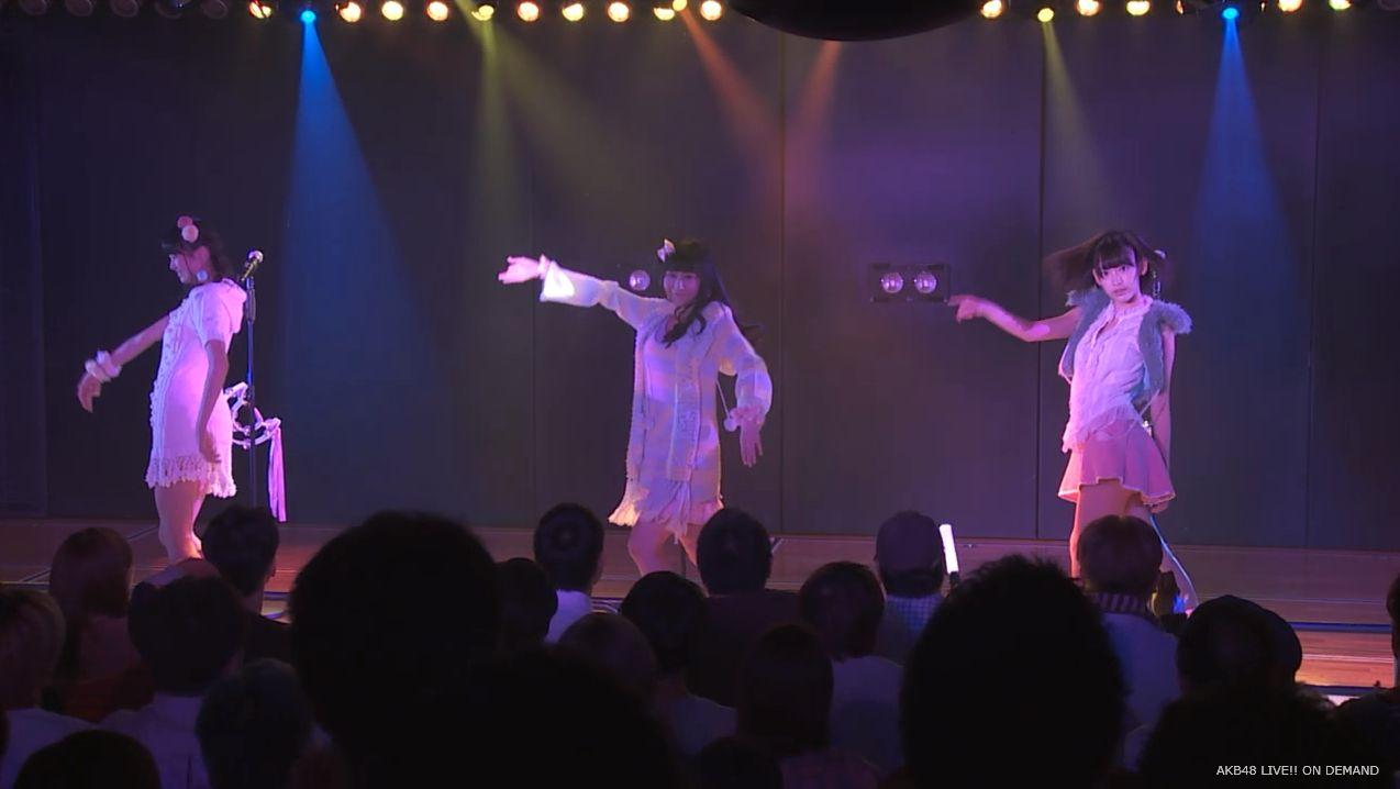 ストレート宮脇咲良 ハート型ウィルス AKB48チームA公演 20140730 (21)