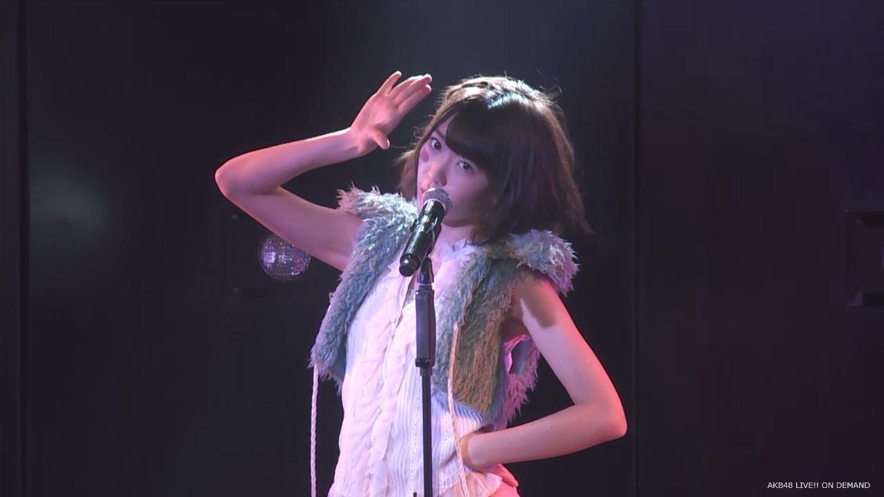 宮脇咲良 ハート型ウィルス チームA公演 20140714 (8)