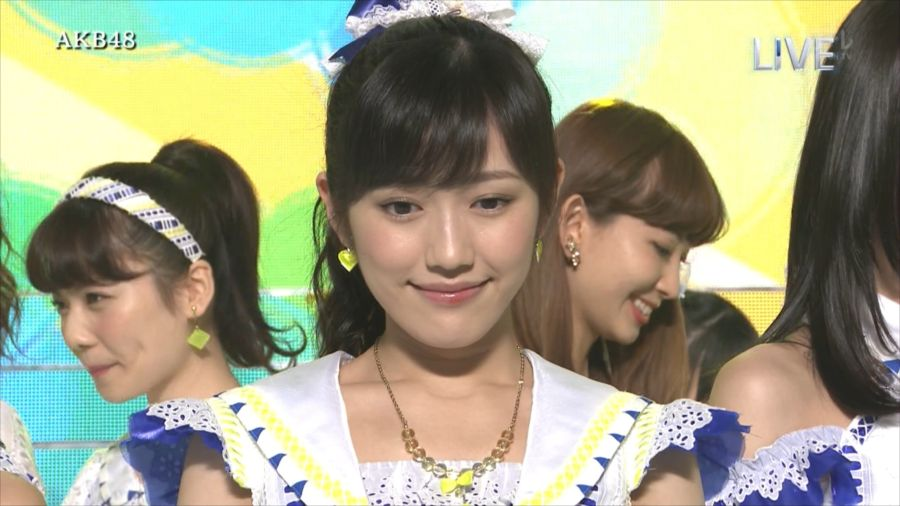 AKB48 渡辺麻友 THE MUSIC DAY 音楽のちから 20140712 (4)_R