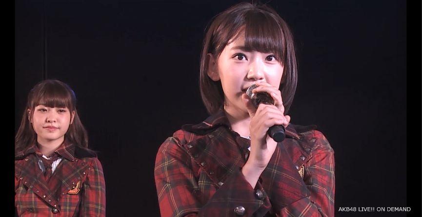 ストレート宮脇咲良 MC 自己紹介 AKB48チームA公演 20140730 (4)