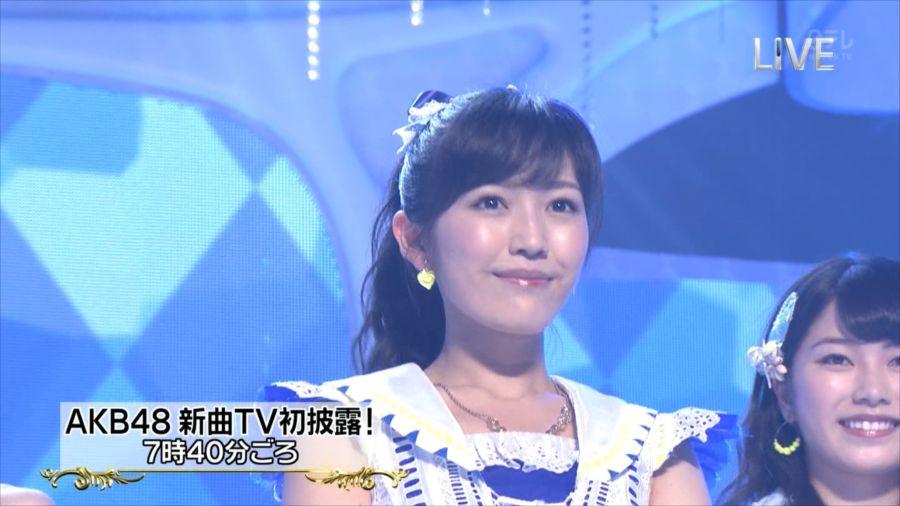 AKB48 渡辺麻友 THE MUSIC DAY 音楽のちから 20140712 (40)_R