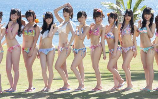 FLASHスペシャル グラビアBEST2014夏号 NMB48イビサガール水着2