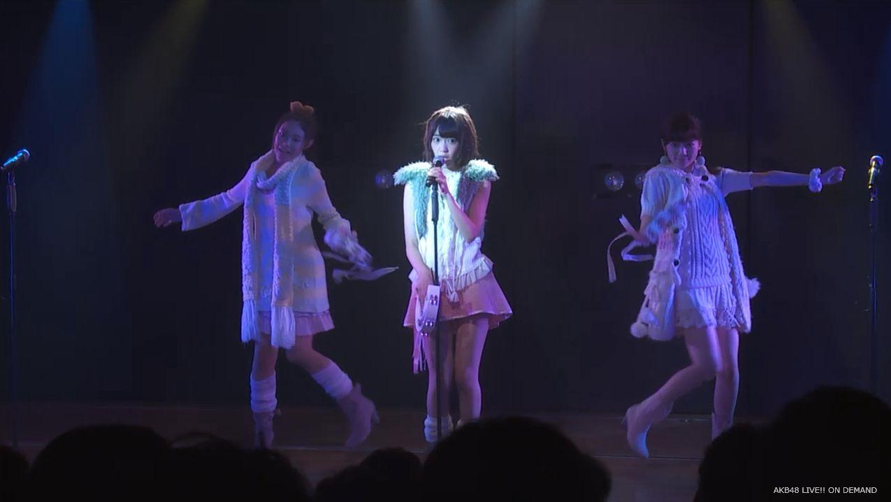 宮脇咲良 ハート型ウィルス チームA公演 20140714 (1)