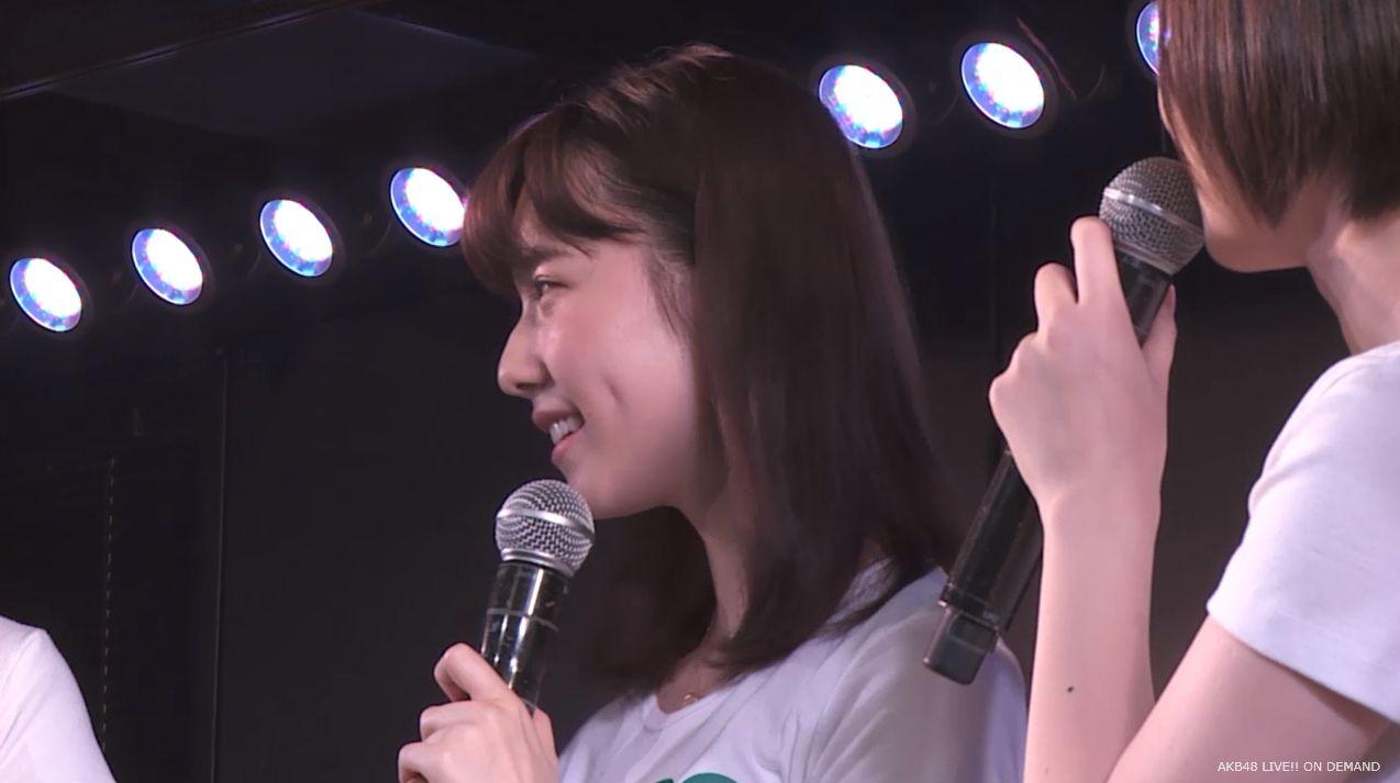島崎遥香 MC チームA劇場公演 20140714 (11)