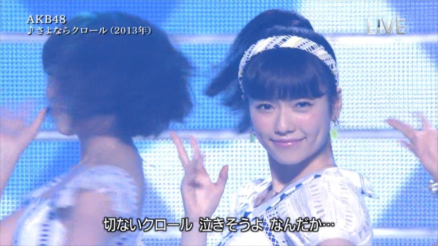 AKB48 島崎遥香 THE MUSIC DAY 音楽のちから 20140712 (15)_R