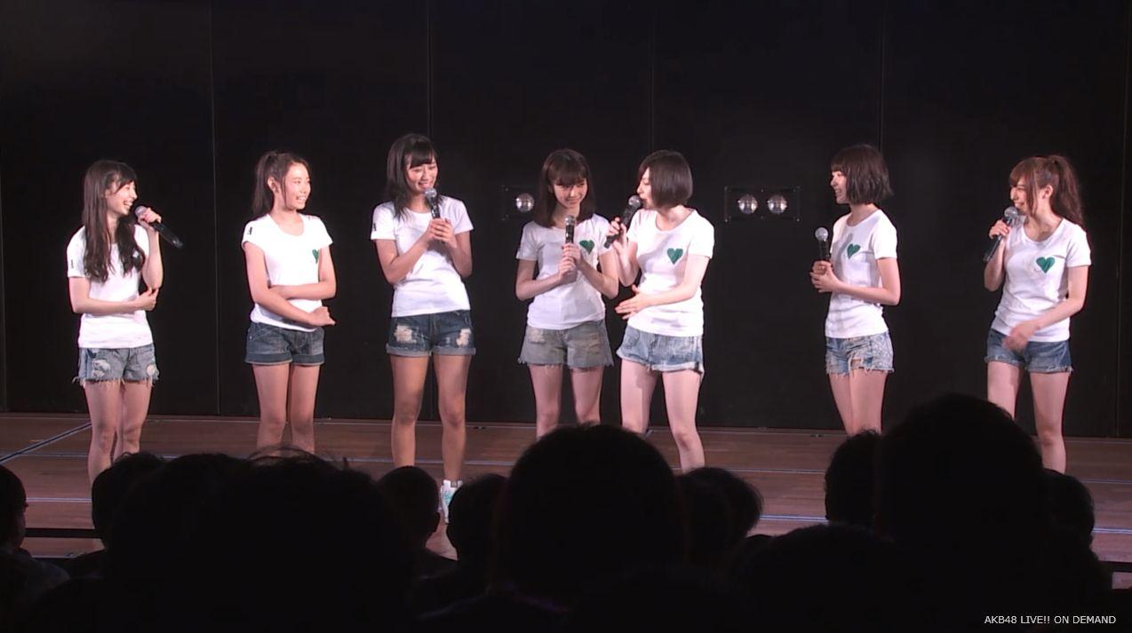 島崎遥香 MC チームA劇場公演 20140714
