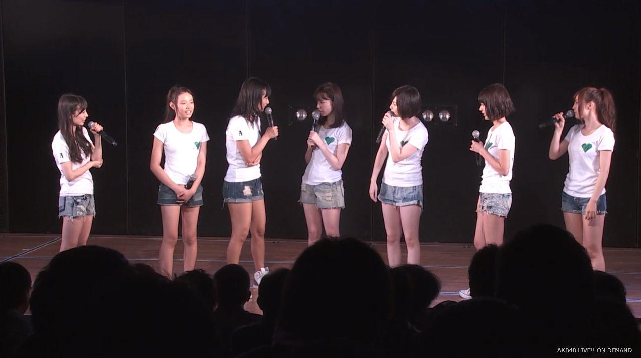 島崎遥香 MC チームA劇場公演 20140714 (3)