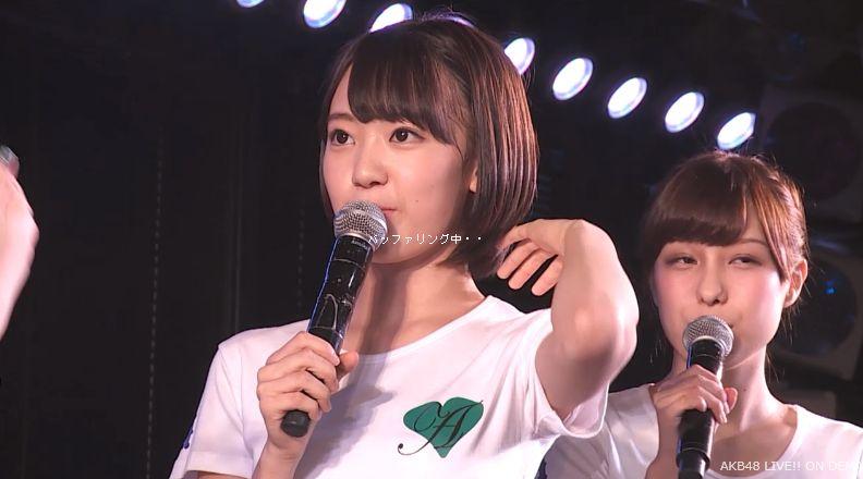 ストレート宮脇咲良 MC AKB48チームA公演 20140730