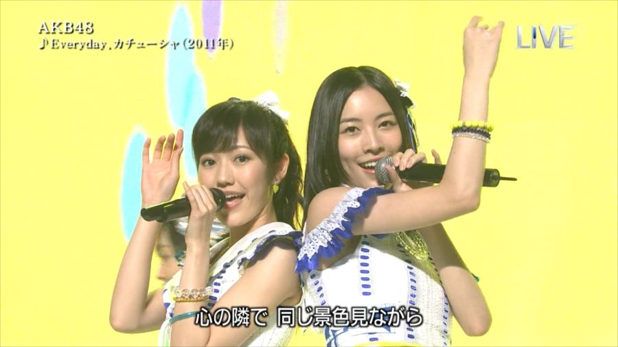 AKB48 渡辺麻友 THE MUSIC DAY 音楽のちから 20140712 (12)_R