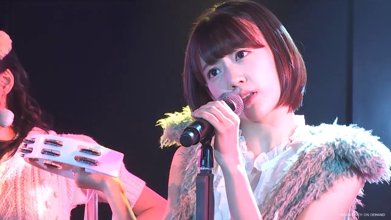 ストレート宮脇咲良 ハート型ウィルス AKB48チームA公演 20140730 (15)