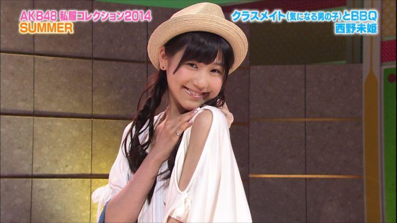AKBINGO 私服コレクション2014夏 西野未姫 20140709 (7)_R