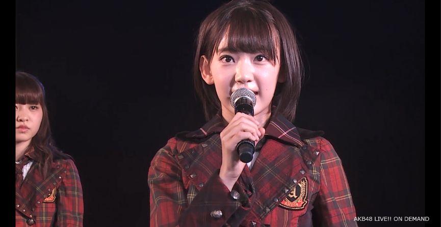 ストレート宮脇咲良 MC 自己紹介 AKB48チームA公演 20140730 (7)