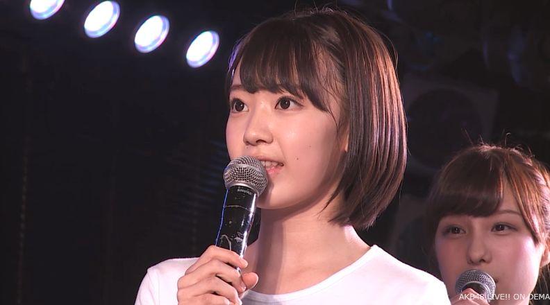 ストレート宮脇咲良 MC AKB48チームA公演 20140730 (4)