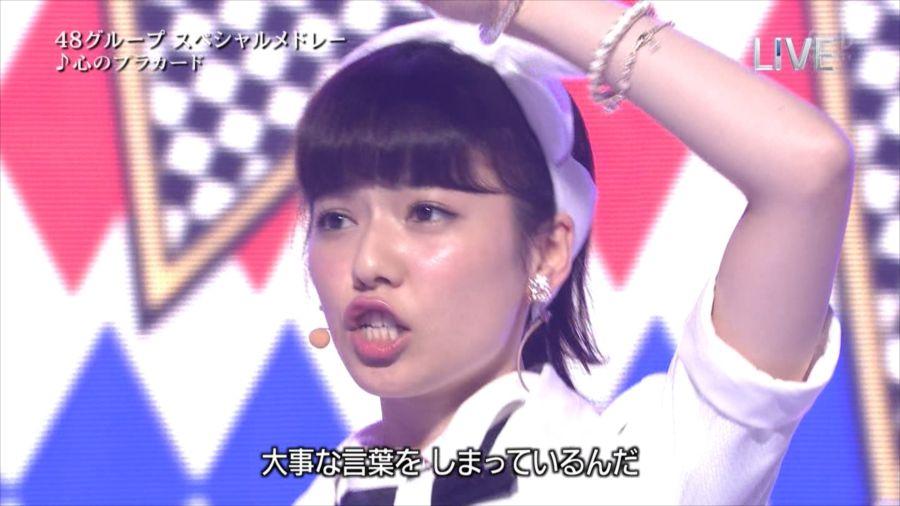 AKB48 島崎遥香 THE MUSIC DAY 音楽のちから 20140712 (20)_R