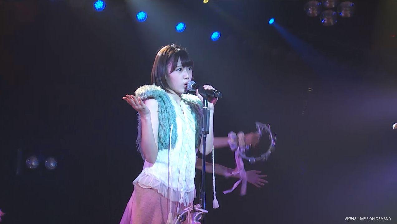 ストレート宮脇咲良 ハート型ウィルス AKB48チームA公演 20140730 (4)